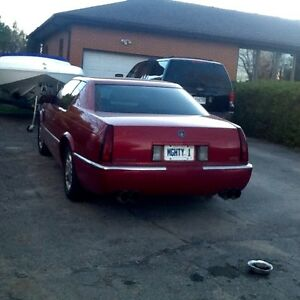 1995 Cadi Eldorado 2 Dr Coupe.Car hauler on trade+ cash