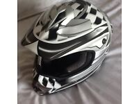 Motorcycle Crash Helmet Takachi TK70 Size M ACU Kite Mark. Never Worn.