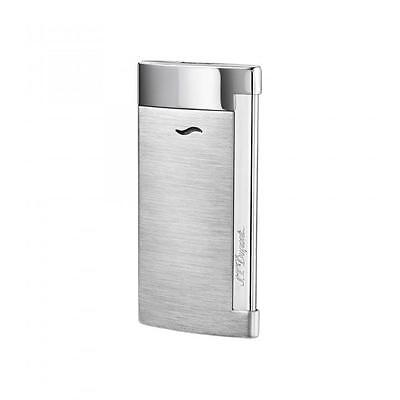 S.T. Dupont Slim 7 Lighter, Brushed Chrome Finish, # 27701 (027701), New In Box