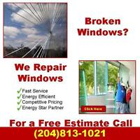 Broken and Cracked Window Repair Winnipeg | Residential Windows