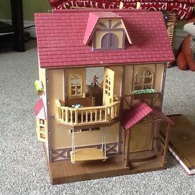 Sylvanian family set and toys