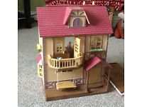 Sylvanian family set and toys
