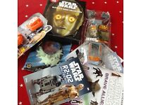 Star Wars bundle - Brand New. Star Wars ultimate book collection and stickers etc. Offers welcome