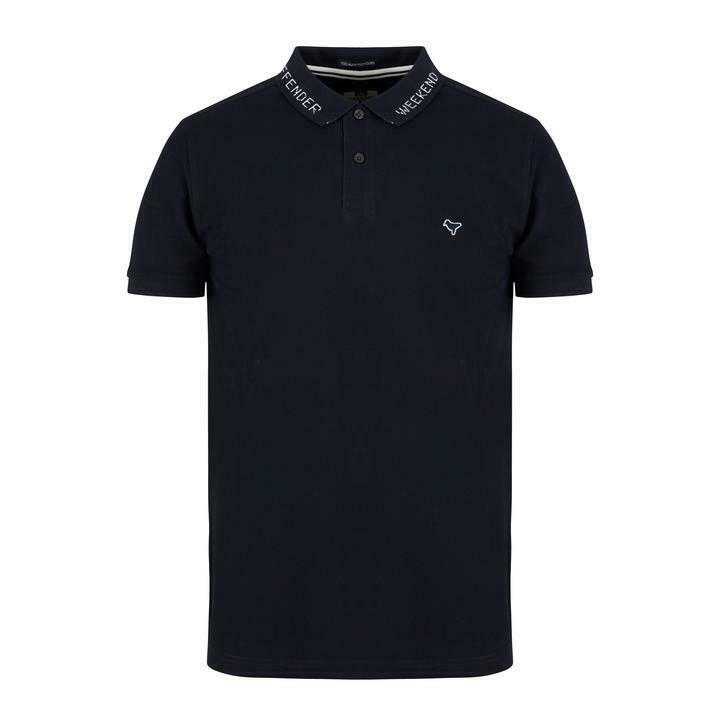 SCONTO 10% WEEKEND OFFENDER POLO PIQUET DEGALE S M L XL CASUAL ULTRAS MODS