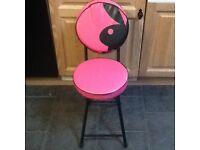 Playboy folding stool