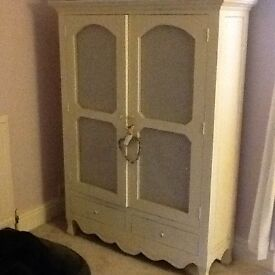 Laura Ashley bramley armoire storsge unit