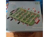 Table top football still in box