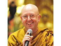 Buddhist Monk, Ajahn Brahm, comes to Manchester for one night only!