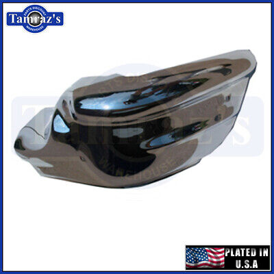 1957 Chevy Bel Air Right Front End Bumper LH USA Plated Front End Bumper Plate