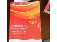 Physiology for nursing x2, leadership and management X1 nursing books