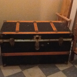 Antique Steamer Trunk