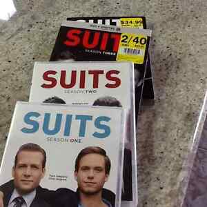 4 seasons of Suits. Dvd's