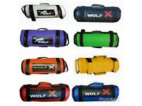Gym/Home Fitness Training Power Bag Filled Sand Power Bag Training MMA Strength Fitness Crossfit.