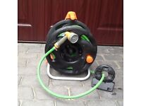 Garden Hosepipe,Reel and Attachments