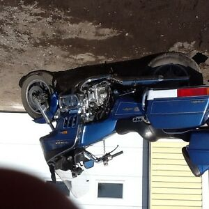 Honda Gold Wing en parfaite condition
