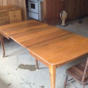 Antique/vintage kitchen table