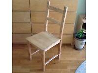 IVAR IKEA chair - natural wood