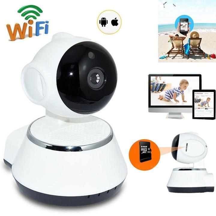 Wireless 720P Pan Tilt Network Home CCTV IP Camera IR Night Vision WiFi Webcam !