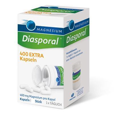 MAGNESIUM DIASPORAL 400 Extra Kapseln 100 Stück PZN 10192609