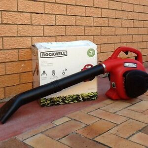 Petrol Blower Rockwell 32cc Mansfield Brisbane South East Preview