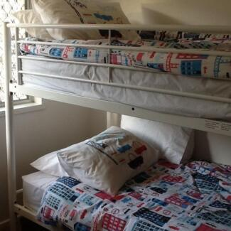 Bunks and trundle bed