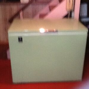 Small compact chest freezer