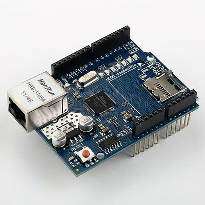W5100 Ethernet Shield With Micro Sd Slot Arduino Compatible