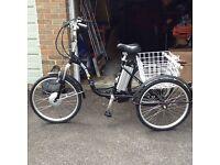 Electric Tricycle Trike Bike RRP £1150