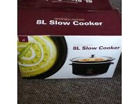 Andrew James 8L Slow Cooker