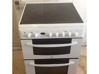 Electric cooker (ceramic ) double oven 60cm wide , can deliver local