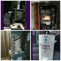Furnace / AC / Hot Water / Pvc Venting / Humdifiers