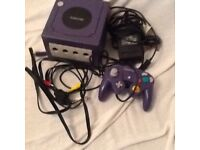 NINTENDO GAME CUBE CAN BE SEEN WORKING