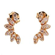 14k Vintage Diamond Earrings