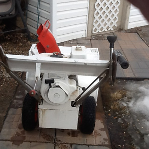 Reduced Jacobsen heavy duty snowblower
