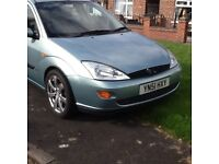 Ford Focus estate 1.8 .diesel .with alloys .11.months m.o.t .