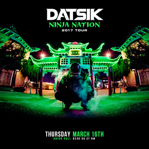 1 Datsik Ticket for March 16 @ Union Hall