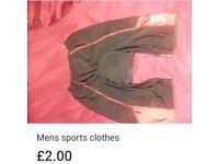 New mens large padded cycling shorts