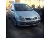 2004 Nissan Almera tino SE 34 710 genuine miles full service history all receipts 2owners from new