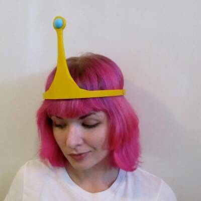 Princess Bubblegum Crown Roleplay RP Cosplay Adventure Time Replica (Princess Bubblegum Cosplay)
