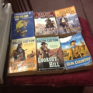NEW STOCK: WESTERNS/MYSTERIES & CD's