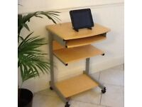 MOBILE COMPUTER DESK (BARGIN)