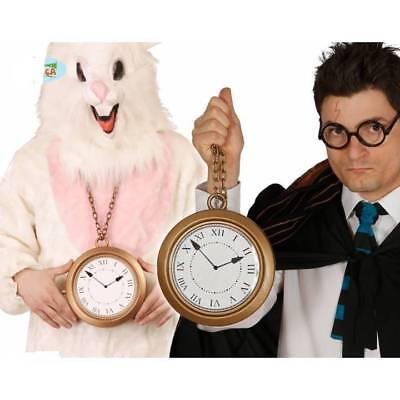Alice Im Wunderland Kaninchen Kostüm (Riese Uhren Weißen Kaninchen Medaillon Alice Im Wunderland Rapper Kostüm)