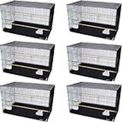 "New Lot of 6 Aviary Breeding Breeder Bird Cage 24x16x16""H--2423-144"