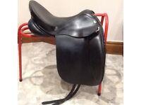 VSD black wide KES saddle
