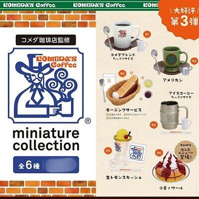 Kenelephant Coffee shop Komeda coffee shop Miniature collection 12 pieces INBOX