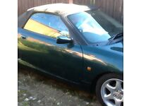 MGTF Convertable Racing Green