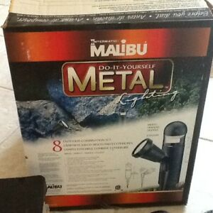 Intermatic Malibu Outdoor metal lighting Set