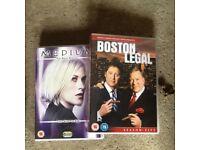 Box sets of DVDs