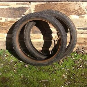 Honda postie ct110 road tyres 2.75 x 17 used Houghton Adelaide Hills Preview