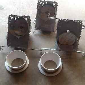 """COMMERCIAL ELECTRIC THREE 6"""" POT LIGHTS"""